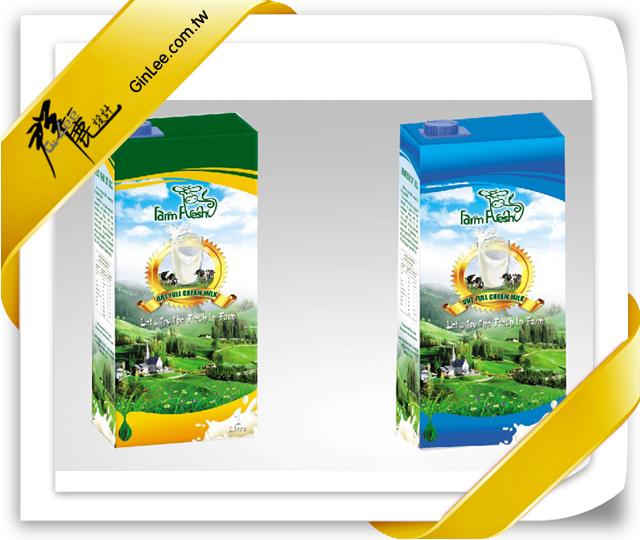 印刷品-包裝盒-奶香四溢,健康天然(自然健康包裝盒設計)